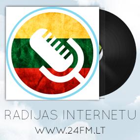Radijas internetu - www.fm24.lt